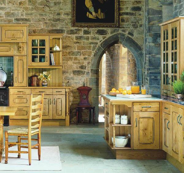 Оформление кухни в частном доме своими руками
