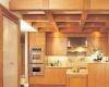 Каким должен быть потолок на маленькой кухне?