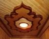 Отделка потолков в деревянном доме