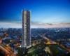 Строительство новой жилой башни в Лондоне