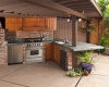Идеи крыши для летней кухни