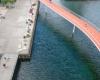Мост для велосипедистов в Дании