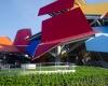 Музей  цвета радуги Фрэнка Гери