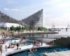 Новый городской центр на воде