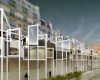 Капсульный отель прямо на берегу Сены