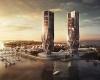 В Австралии вырастут два небоскреба от Захи Хадид