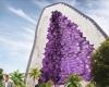Компания NL Architects создала новый роскошный фиолетовый отель  в стиле футуризма