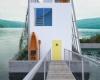 Устойчивый и доступный плавучий дом