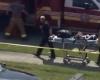 Водитель врезался в здание детского садика
