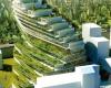 Зеленая школа с террасами в Стокгольме