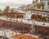 Школьный комплекс для горного района Стамбула