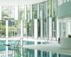 Крытый бассейн в Исманинге от компании prpm Architekten