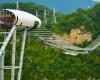 Самый длинный подвесной мост в мире открылся в Сочи