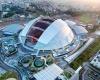 Стадион с самым большим куполом в мире