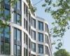 Офисный комплекс GMP в Гамбурге, претендует на  золотой сертификат в соответствии с правилами DGNB