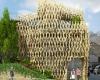 Кондитерская в стиле древней японской архитектуры