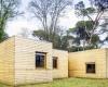 Биоклиматический деревянный дом в Испании