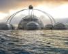 Подводный город в 60 этажей