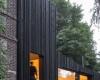 Черный дом компании Marchi Architectes