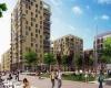 Строительство квартала Кидбрук Вилледж в Лондоне