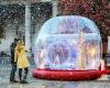 LEGO проект – светящийся Снежный шар