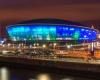 Новый гигантский развлекательный центр SSE Hydro в Шотландии